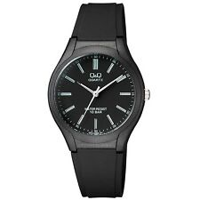 Q&Q VR72J008Y By Citizen Black Resin Analog Men Watch