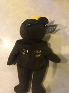 NWT Chicago Cubs Sammy Sosa #21 Bamm Beanos Beanie Baby Plush Bear