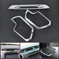 Chrome Interior Speaker+ Console Display Molding Trim Fit for Kia Sportage 11-15