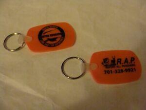 Hunter Orange Keychain