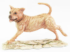 Staffordshire Bull Terrier Dog Figurine Border Fine Arts- Hand Made in Scotland