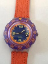"""SWATCH WATCH """"RED ISLAND"""" NEW IN BOX SCUBA SDK106 GREAT GIFT"""