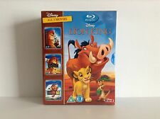The Lion King trilogy 1 - 3 [Blu-ray] *NEW*