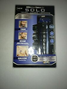 Micro Touch SOLO Men's Rechargeable Full Body Hair Trimmer, Shaver and Groomer