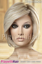 GLAM Longer Front Bob Wig Mono Top Lace Front Heat Safe OK Friendly Palm Springs