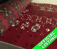 UNCUT SHEET of Tenebre (Rosso) Playing Cards
