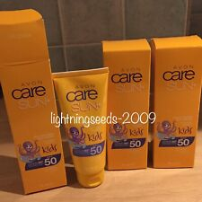 Avon Care Sun + Multivitamin Cream Very Water Resistant HIGH SPF50 x3 Lots