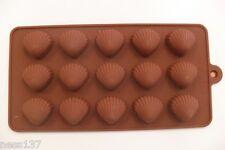Moule à Chocolat Jolis Coquillages en Silicone 15 Pièces Paques Neuf