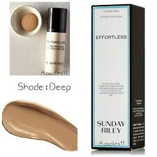 SUNDAY RILEY EFFORTLESS BREATHABLE TINTED PRIMER  SHADE DEEP 30ML HARD TO FIND