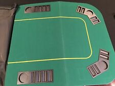Fold in 4 Texas Holdem Poker Table Top - REDUCED PRICE!