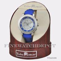 Authentic Techno Master Men's Blue Watch TM2108