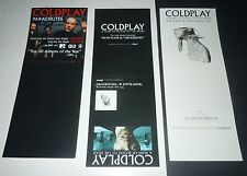 COLDPLAY~Parachutes~A Rush Of Blood~Original Promo CD Card~2000~Capitol Reoords