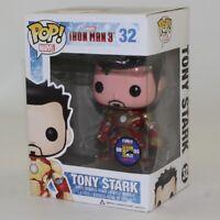 Funko Pop! SDCC 2013 Exclusive - Vinyl Figure - TONY STARK (Unhelmeted) #32 *NM