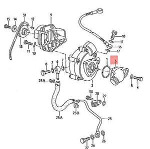 Genuine Volkswagen Connection Piece NOS 030145755A