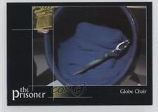2002 Cards Inc The Prisoner Autograph Series #68 Globe Chair Non-Sports Card 0f8