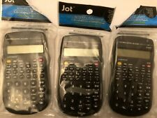 New ListingLot Of 3 Jot 10-Digit Scientific Calculator With 56 Functions-Wholesale