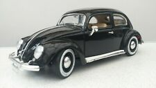 Bburago 1.18 Scale diecast model VW KAFER- BEETLE (1955) 1.OOO.000th Black *VGC*