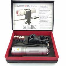Ledlenser Taschenlampe B7.2 Geschenk BOX mit Fahrradhalterung und Zubehör