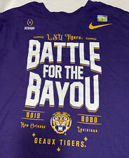Men's Nike LSU 'Battle For The Bayou' Tee (L)