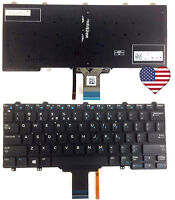NEW OEM Dell Latitude E5250 E7250  US Backlit Laptop Keyboard US