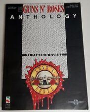 GUNS N ROSES ANTHOLOGY GUITAR TAB TABLATURE SONGBOOK SHEET MUSIC BOOK