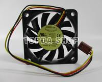 1pc EVERFLOW  6010 R126010DU fan DC12V 0.35AMP 3pin