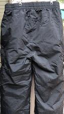 Sport Essentials �� Mens Snow Boarding/Ski Pants Waterproof Black Sz L Euc �