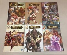 LOT OF 6 EXALTED #0, 1-4 WITH VARIANT #1 UDON COMICS WHITE WOLF GAME STUDIO