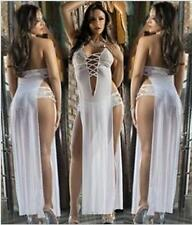 European and American sexy white dress sexy lady skirt the temptation M NO.5A-01