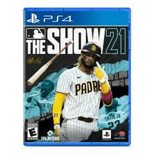 MLB The Show 21 PS4 - For PlayStation 4 - ESRB Rated E (Everyone) - Sports Game