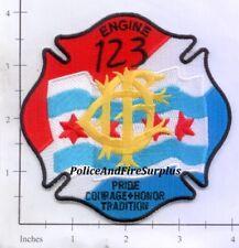 Illinois - Chicago Engine 123 IL Fire Dept Patch