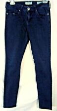 "BULLHEAD WOMEN'S DENIM BLUE JEANS SIZE 9, 28"" X 26"" PRE-WORN"