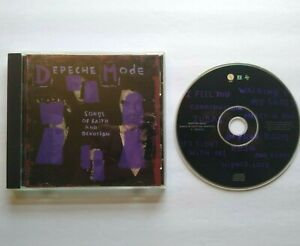 Depeche Mode Songs Of Faith And Devotion CD Album Synth-Pop Electronic 1993
