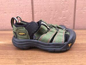MINT Keen Newport H2 Toddler US 5 Army Green Hiking Beach Waterproof Sandals C8