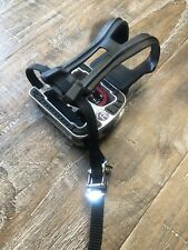 Exercise Bike Pedals Straps Toe Clip Cleats/Spd 9/16 5/8 M18 M20 Jd-304 Right R