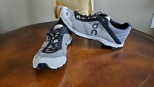 ON  Cloud Cloudrush Mens Size 10 Running Shoe Black and White