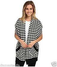 $59 Fox Racing Women's Shifter Cardigan Sweater – Black/White sz L