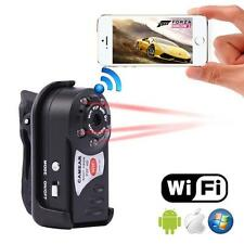 WIFI Mini DV IP Wireless Spy Cam Night Vision Camera Security For Android IOS