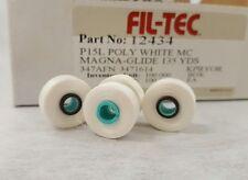 FIL - TEC MAGNA GLIDE CLASSIC L-GLIDE PREEWOUND EMBROIDERY BOBBINS THREAD WHITE
