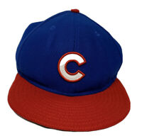 Vintage Chicago Cubs MLB Baseball New Era Fitted Hat Size 7 1/8