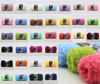 100g/skeins Warm Soft Natural Plush Fluffy Yarn Coral Velvet Hand knitting Wool