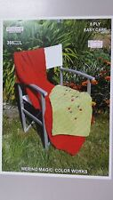 Heirloom Knitting Pattern #366 Cot Blanket & Pram Cover in 8 Ply