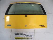 FIAT PUNTO 1.2 BENZ 3P 6M 59KW (1999) RICAMBIO COFANO POSTERIORE BAULE CON LUNOT