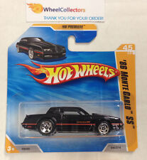 '86 Monte Carlo #45 * Black on Short Card * 2010 Hot Wheels * Z15