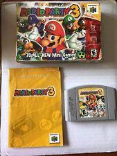 Mario Party 3 Complete In Box See Pics And Description Nintendo 64, 2001