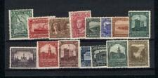 NEWFOUNDLAND: 1928 PICTORIAL ISSUE Sc 145-59 VF MINT NH