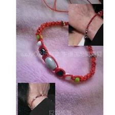 Unisex Michael Jackson MJ Speechless Style Lucky Red bracelet HOT