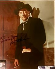 Night Of The Hunter: Robert Mitchum Autographed 8x10 Photo Collage. Includes Coa