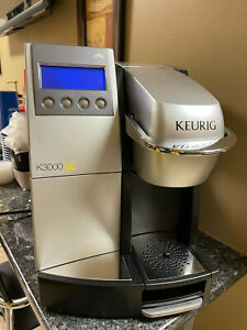 Keurig SE3000 in used condition, direct water line so no need to fill