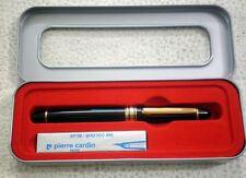 Pierre Cardin President Fountain Pen, 2 free cartridges, blue ink, fine nib